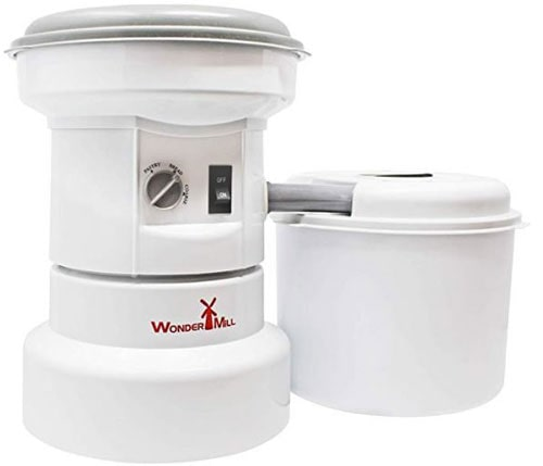 food processor and electric grain mill