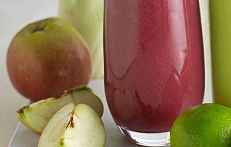 Fennel, Apple and Blueberry Juice