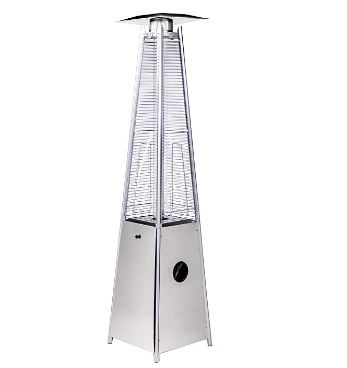 Legacy Heating Quartz Patio Flame Heater